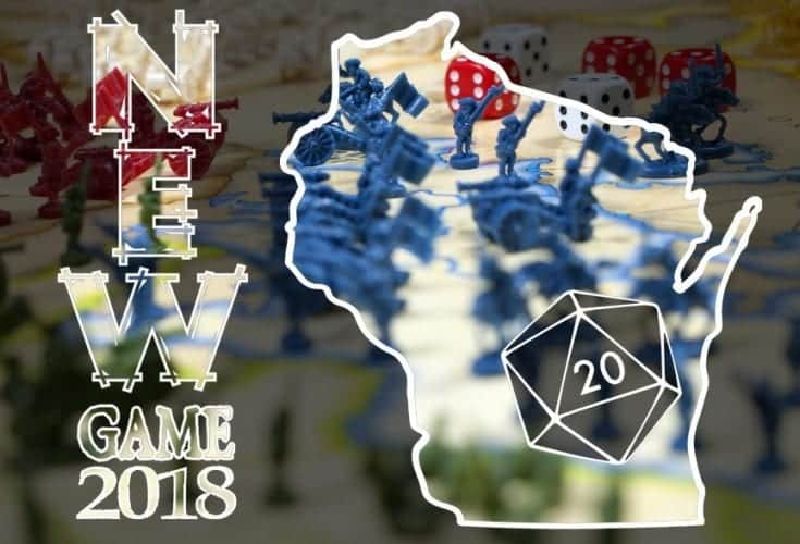 NEWGame 2018 - Northeast Wisconsin Gameapalooza‎