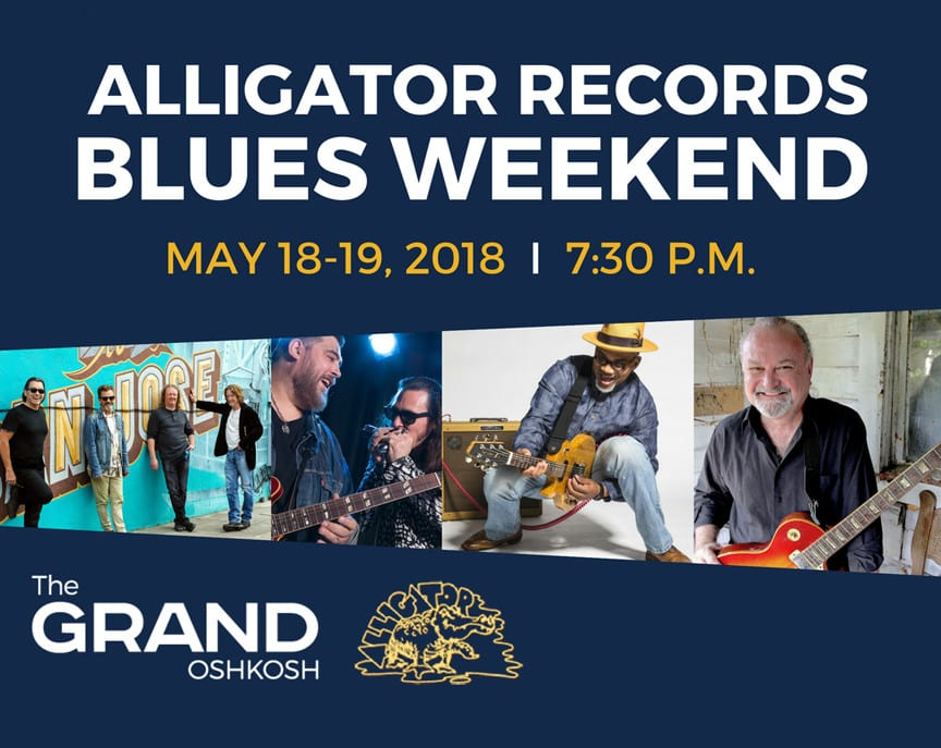 Alligator Records Blues Weekend 2018