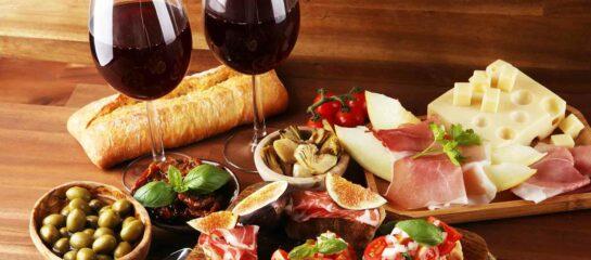 photo of italian antipasta braywood inn dinner and a show package
