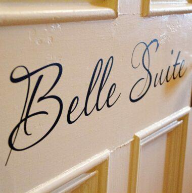 Belle Suite door